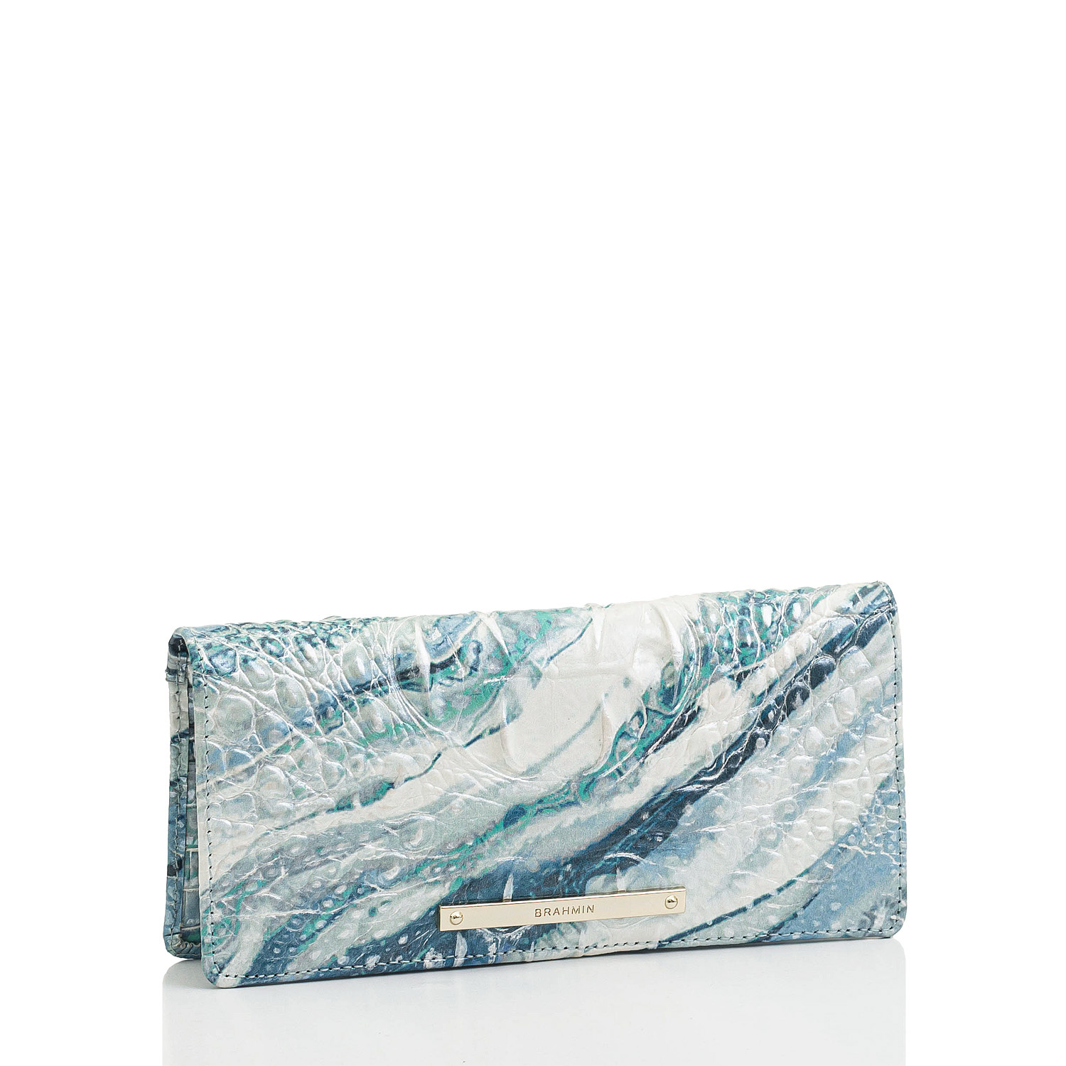 Ady Wallet Splash Melbourne Front Brahmin Exclusive