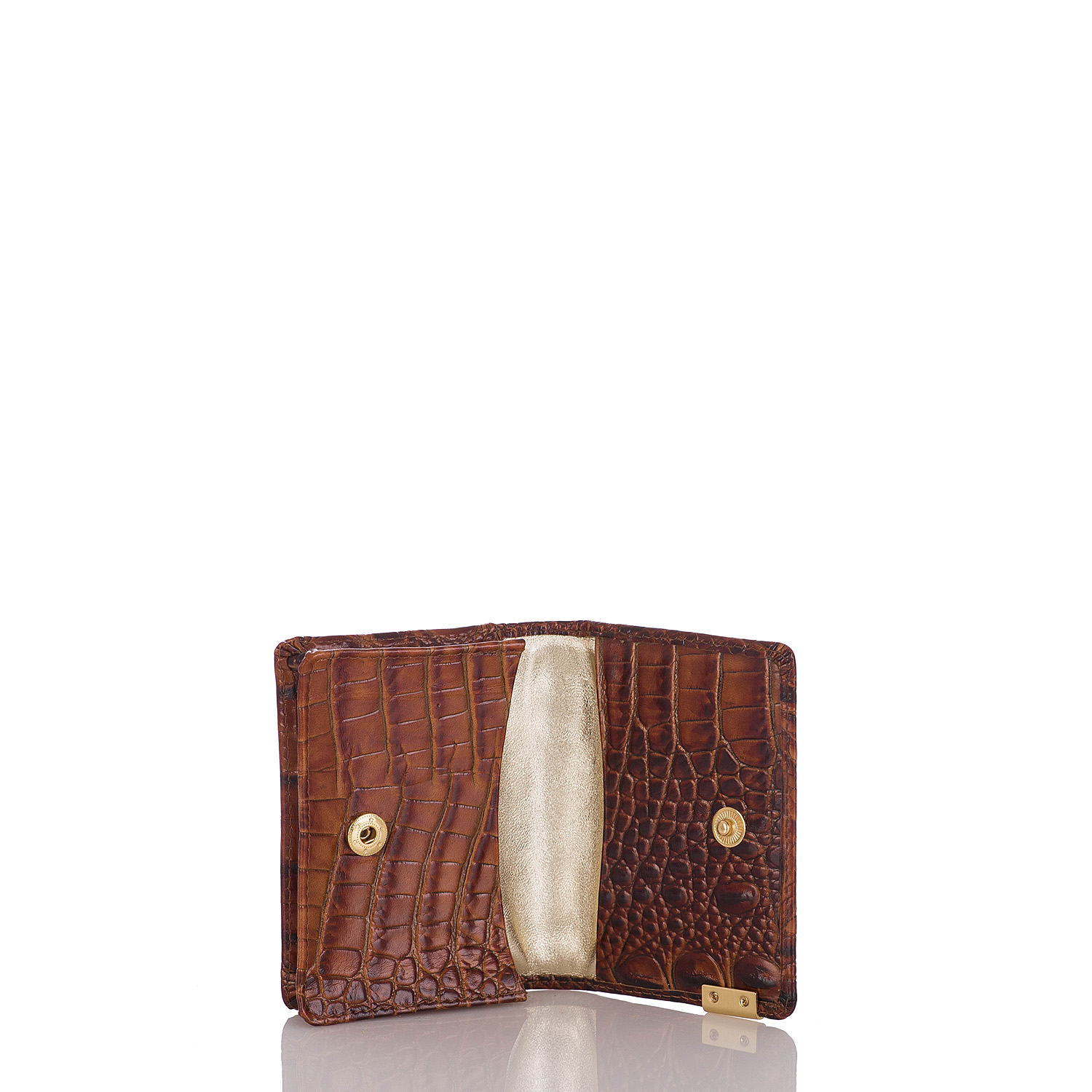 Card Case Pecan Melbourne Front
