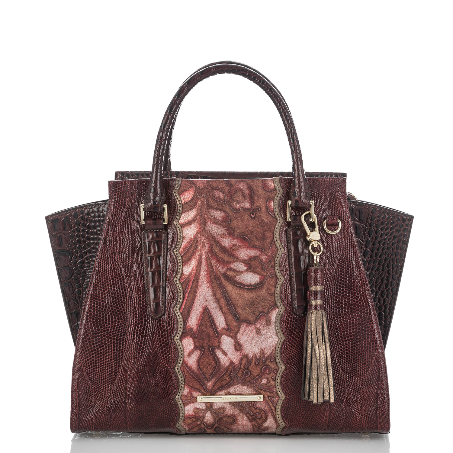 Priscilla Satchel Red Verona Video Thumbnail