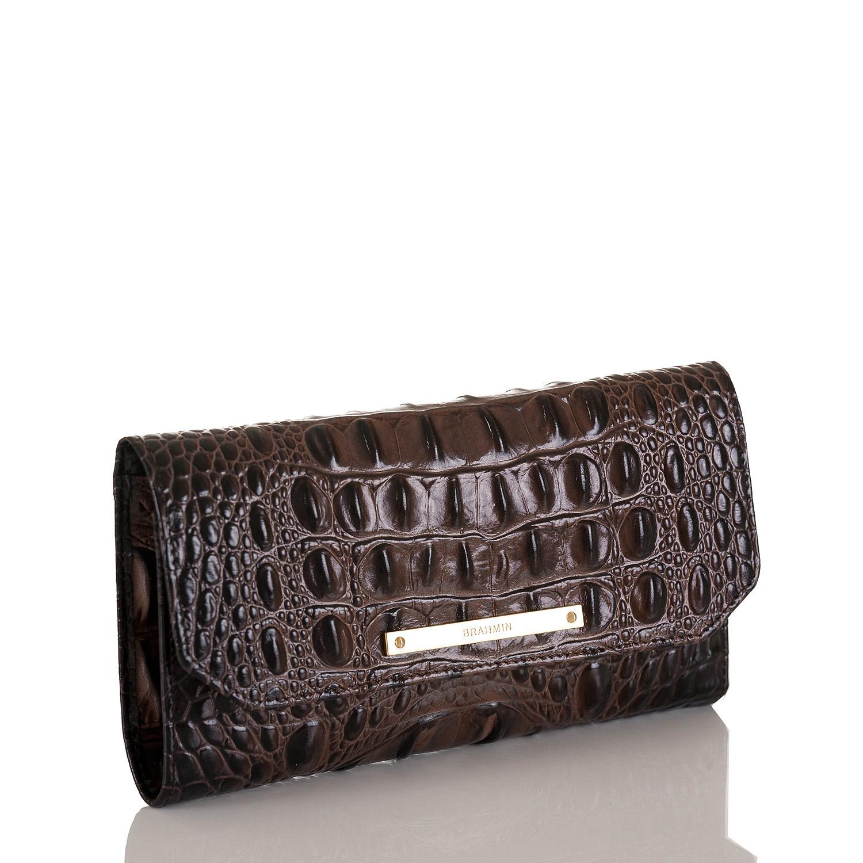 Soft Checkbook Wallet Cocoa Melbourne