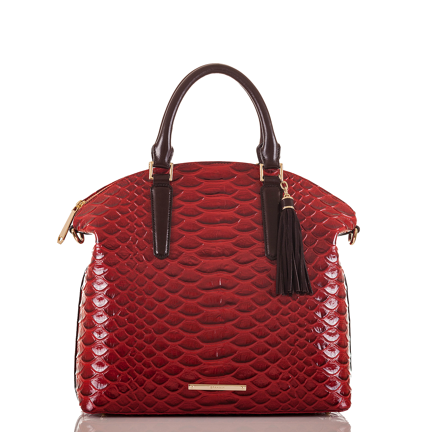 Large Duxbury Satchel Scarlet Vardo Video Thumbnail