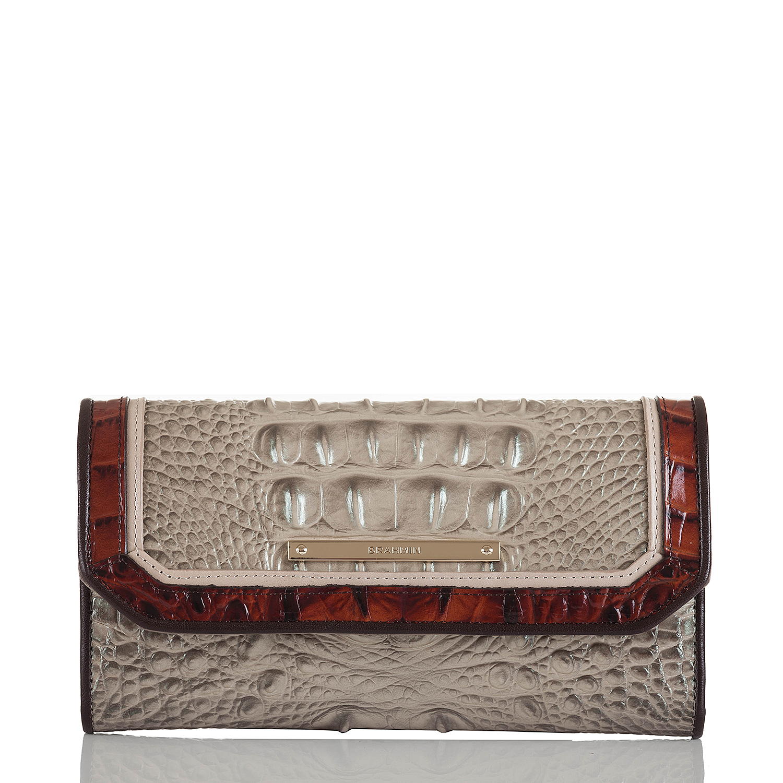 Soft Checkbook Wallet Hemlock Westwood
