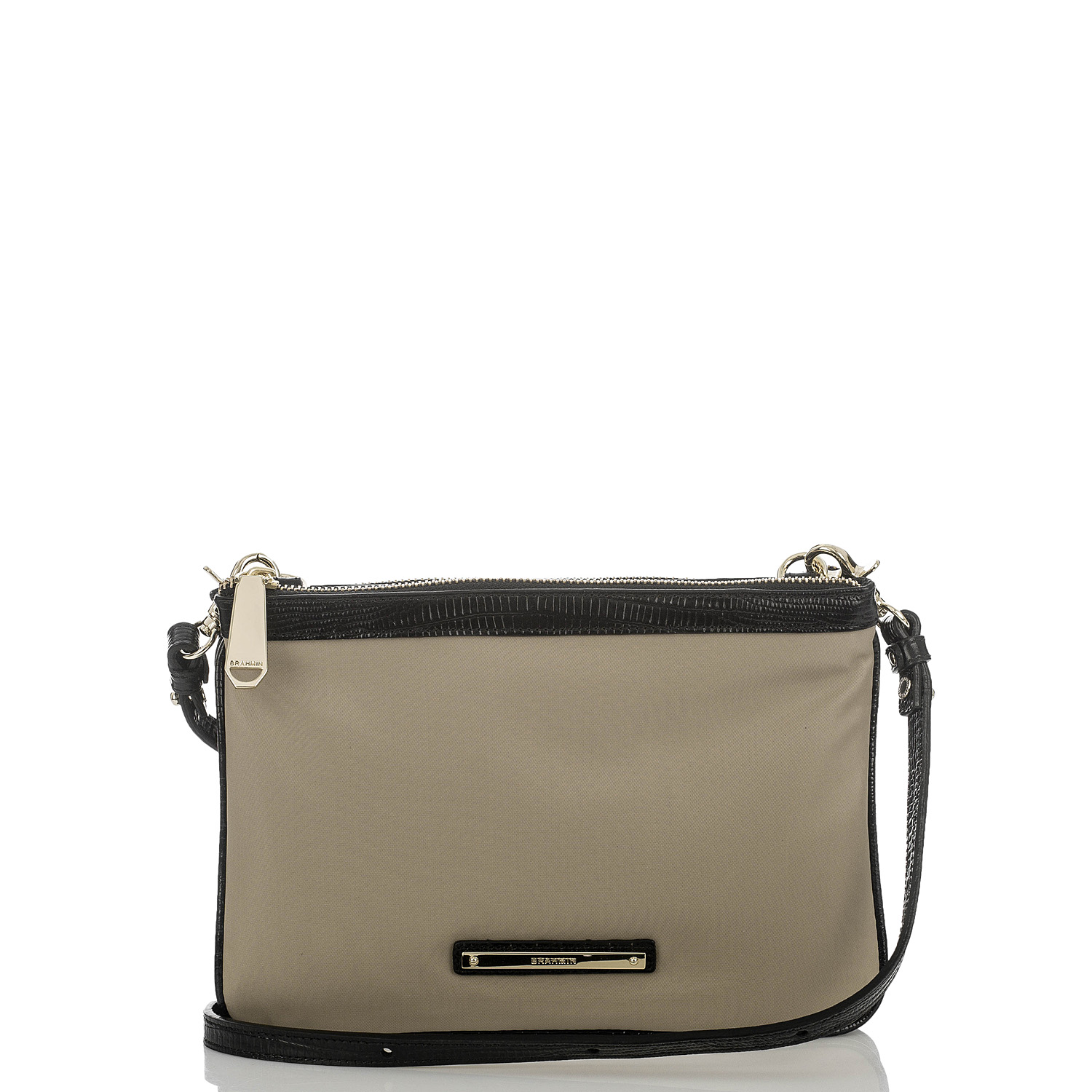 Perri Crossbody Black Bayview Color Block Front