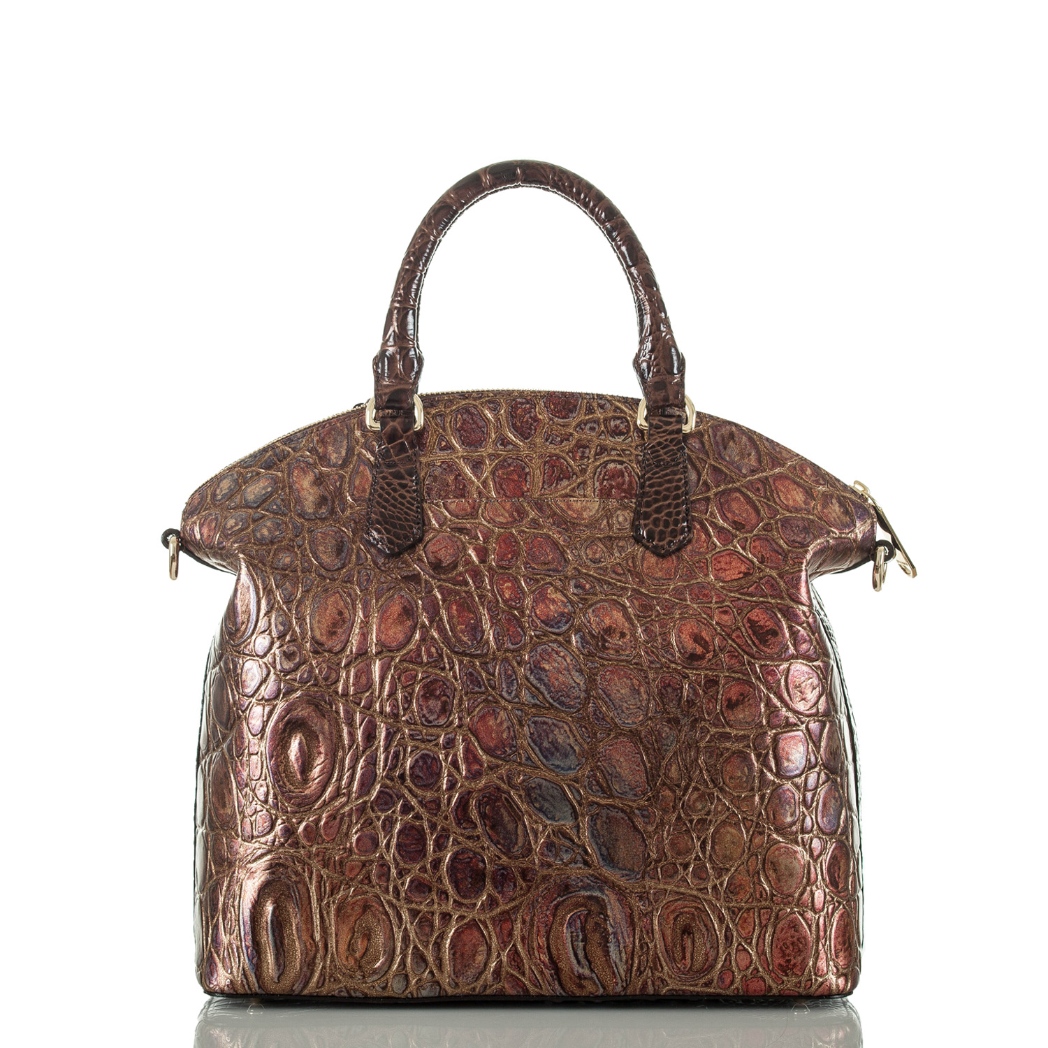 Large Duxbury Satchel Multi Crescendo Front