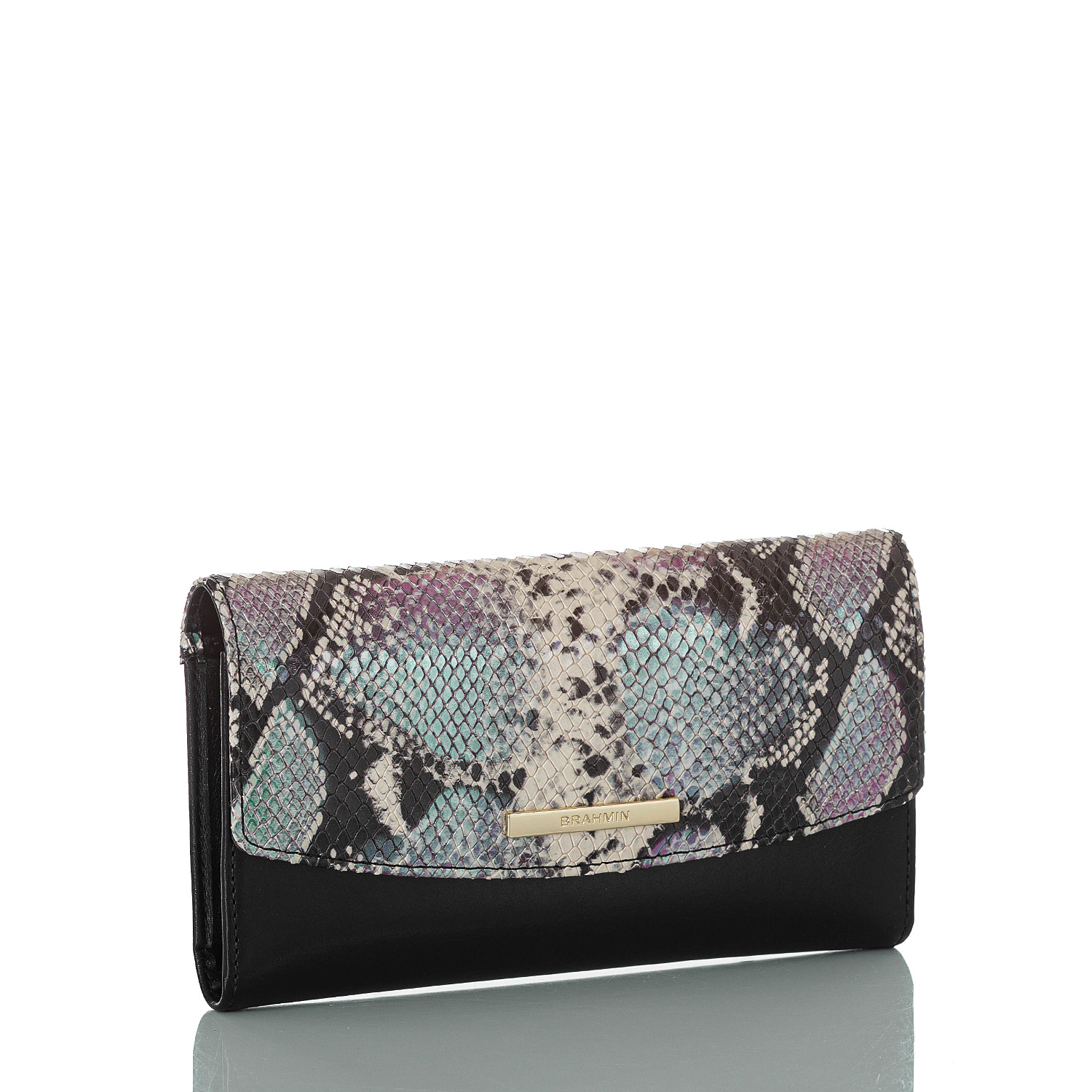 Modern Checkbook Wallet Moonscape Willoughby
