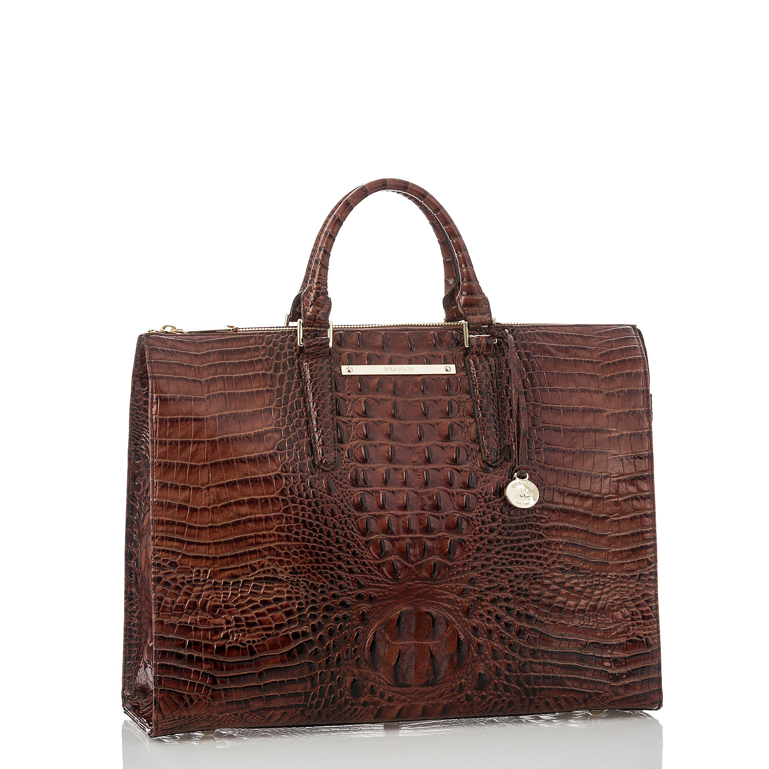 Business Tote Pecan Melbourne Front