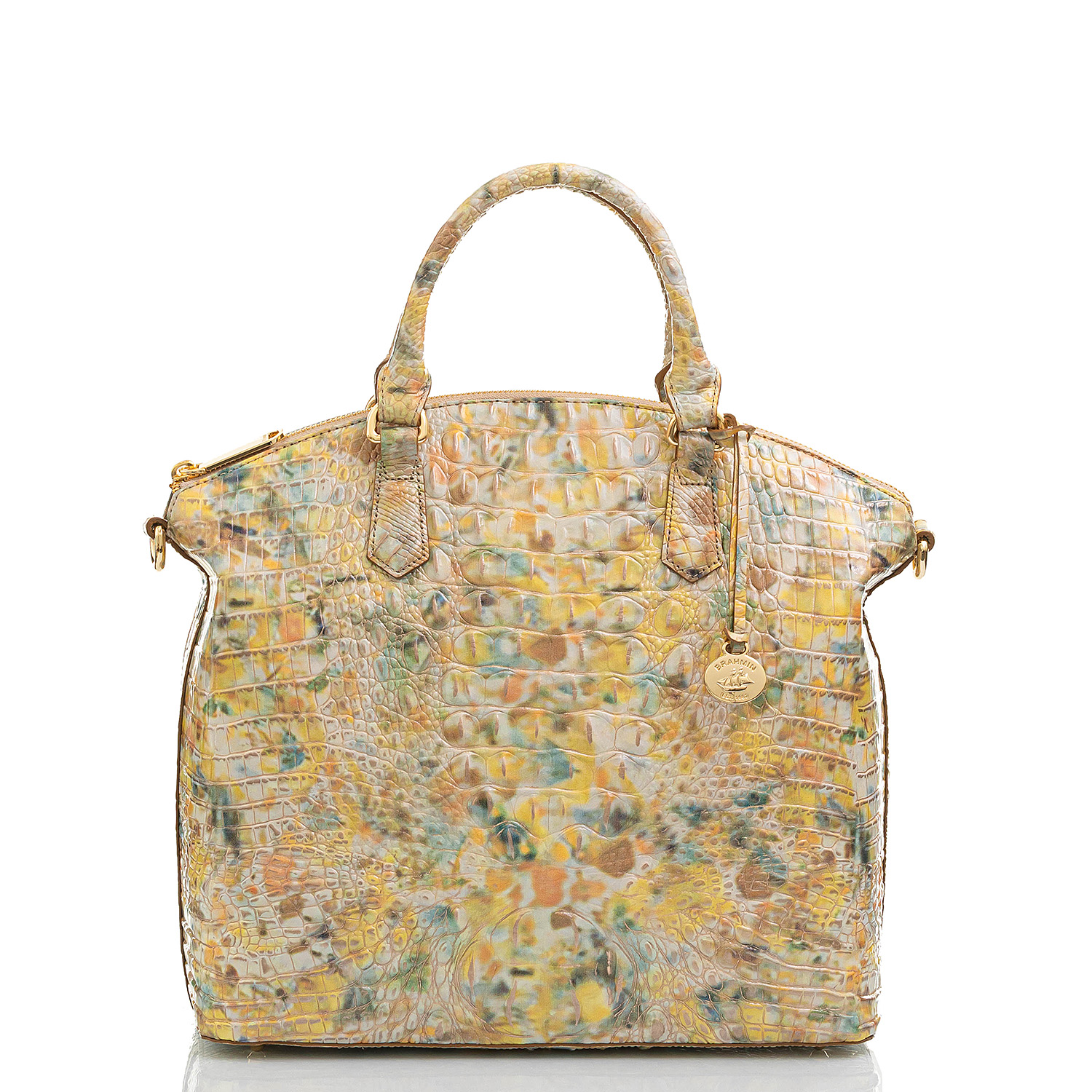 Large Duxbury Satchel Poppy Seed Melbourne Front