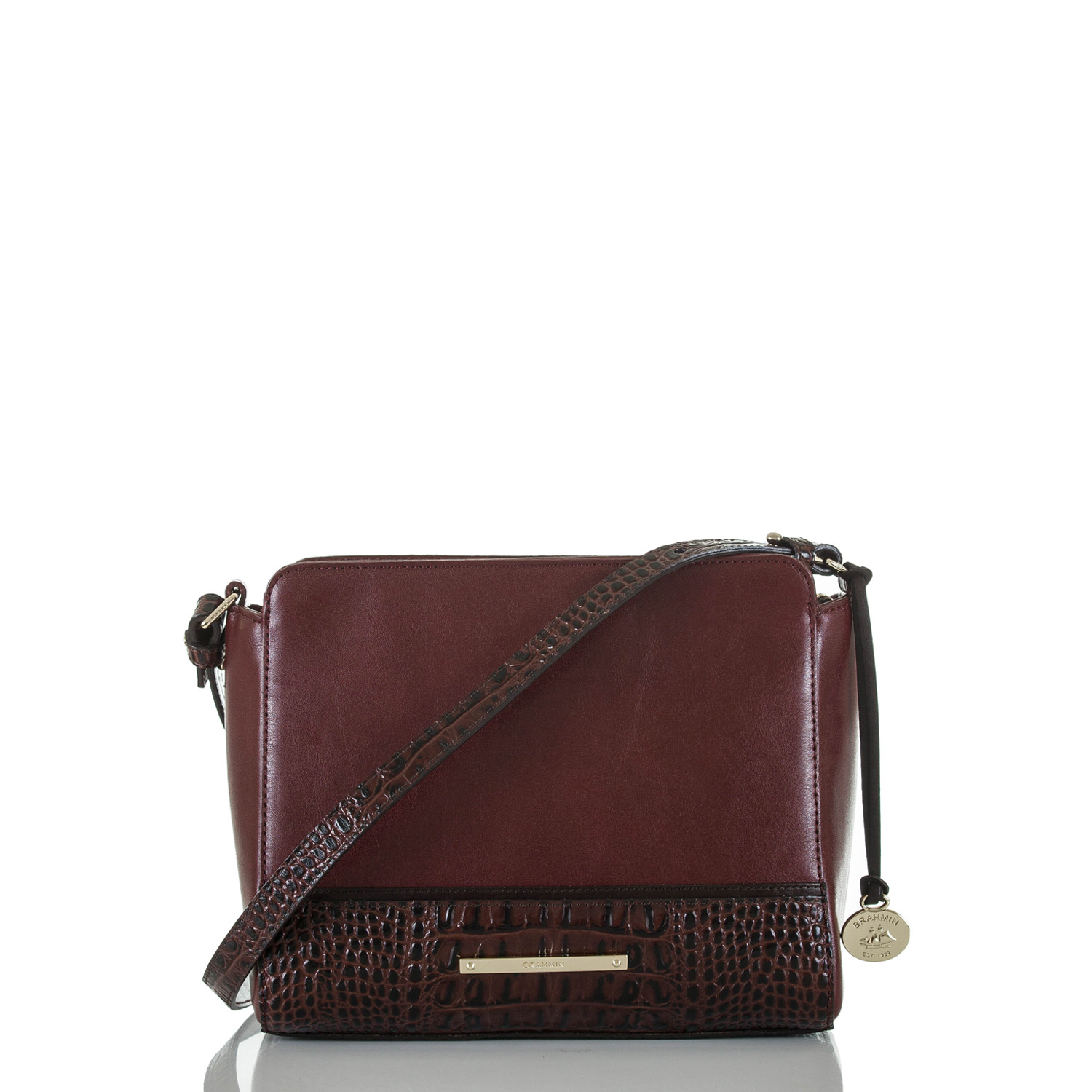Carrie Crossbody Malbec Autumn Tuscan Front
