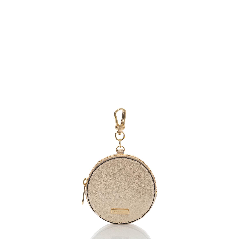 Circle Coin Purse Platinum Moonlit