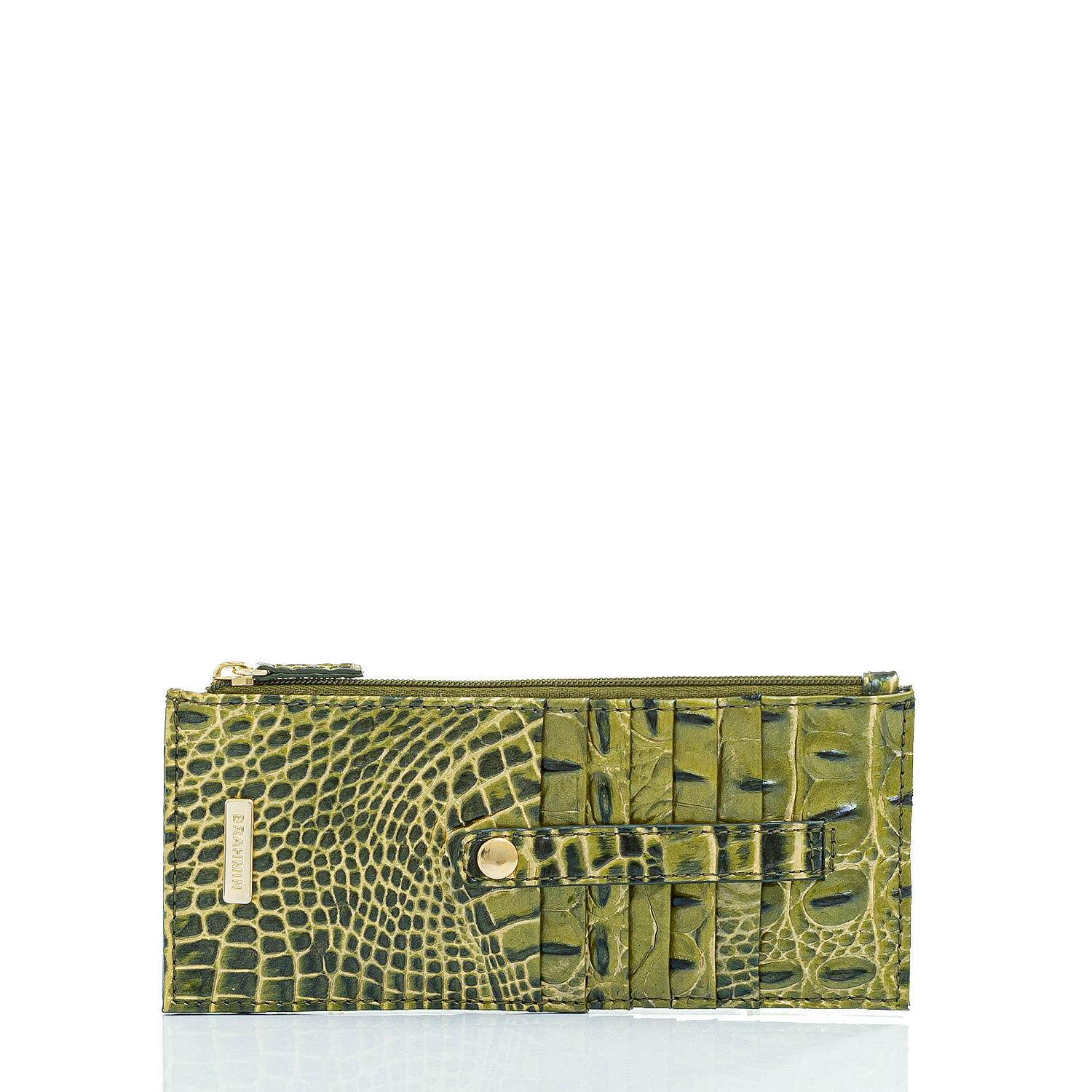 Credit Card Wallet Moss Melbourne Front