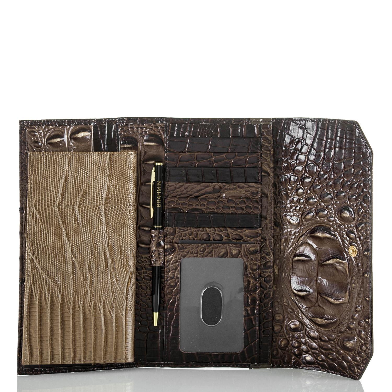 Soft Checkbook Wallet Brunello Vestige
