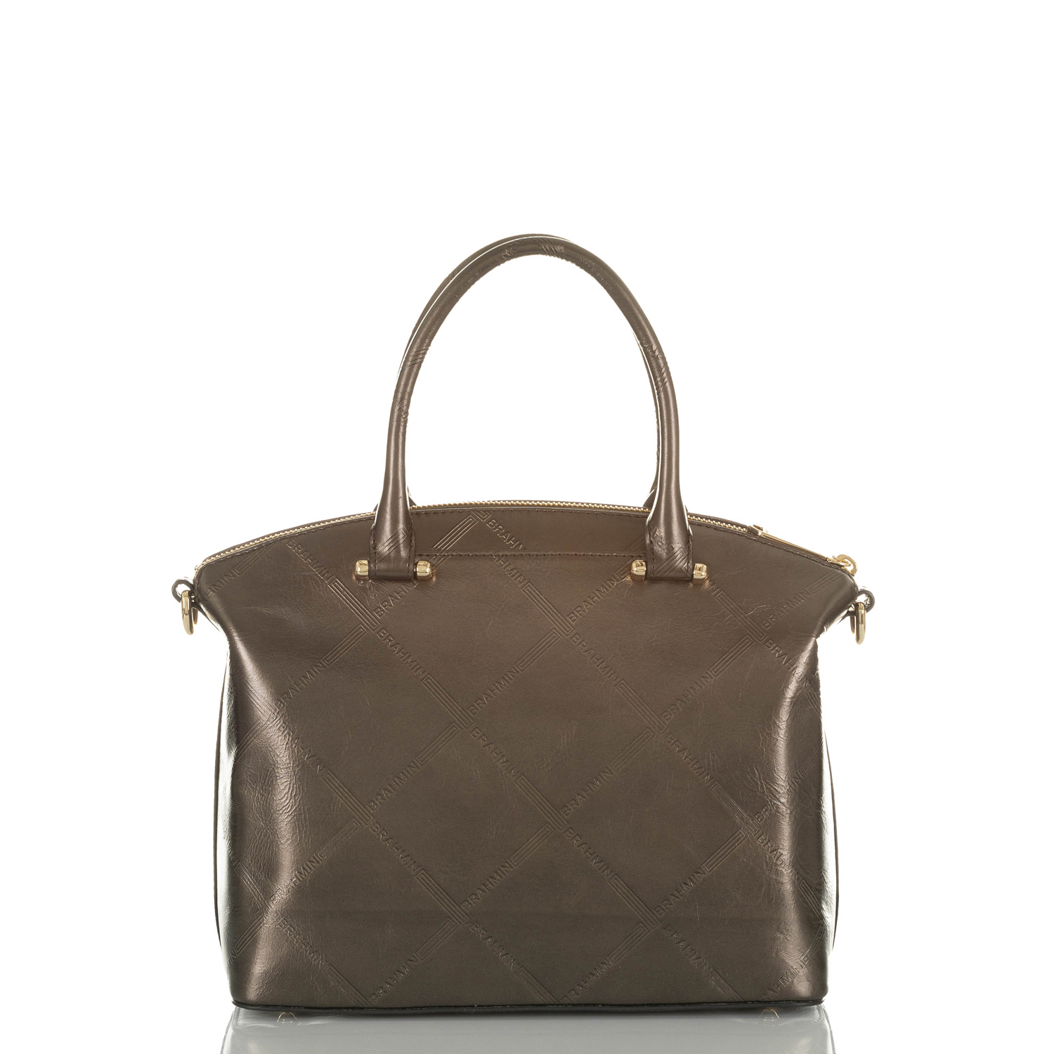 Duxbury Satchel Bronze Vetiver