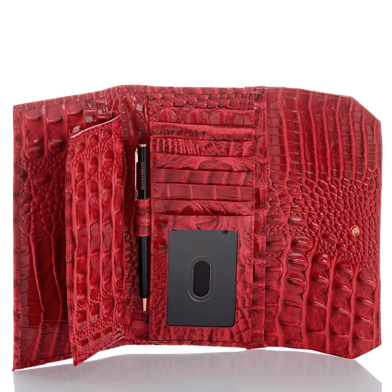 Soft Checkbook Wallet Carnation Melbourne