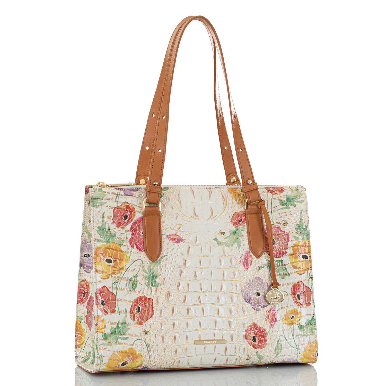 Anywhere Tote Multi Papaver