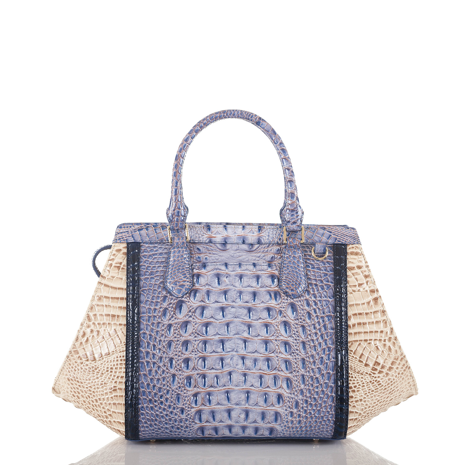 Arden Satchel Washed Indigo La Paz