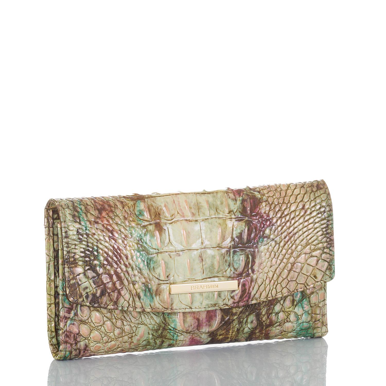 Modern Checkbook Wallet Amethyst Melbourne