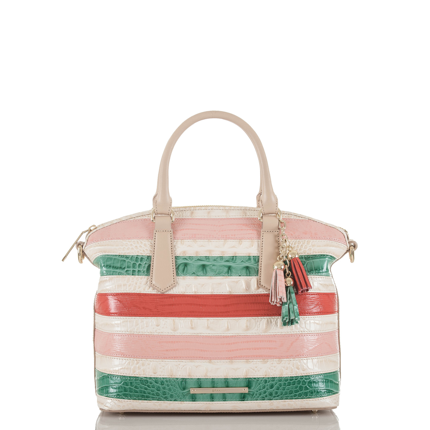 Duxbury Satchel Sunglow Cayo Coco Front Thumbnail
