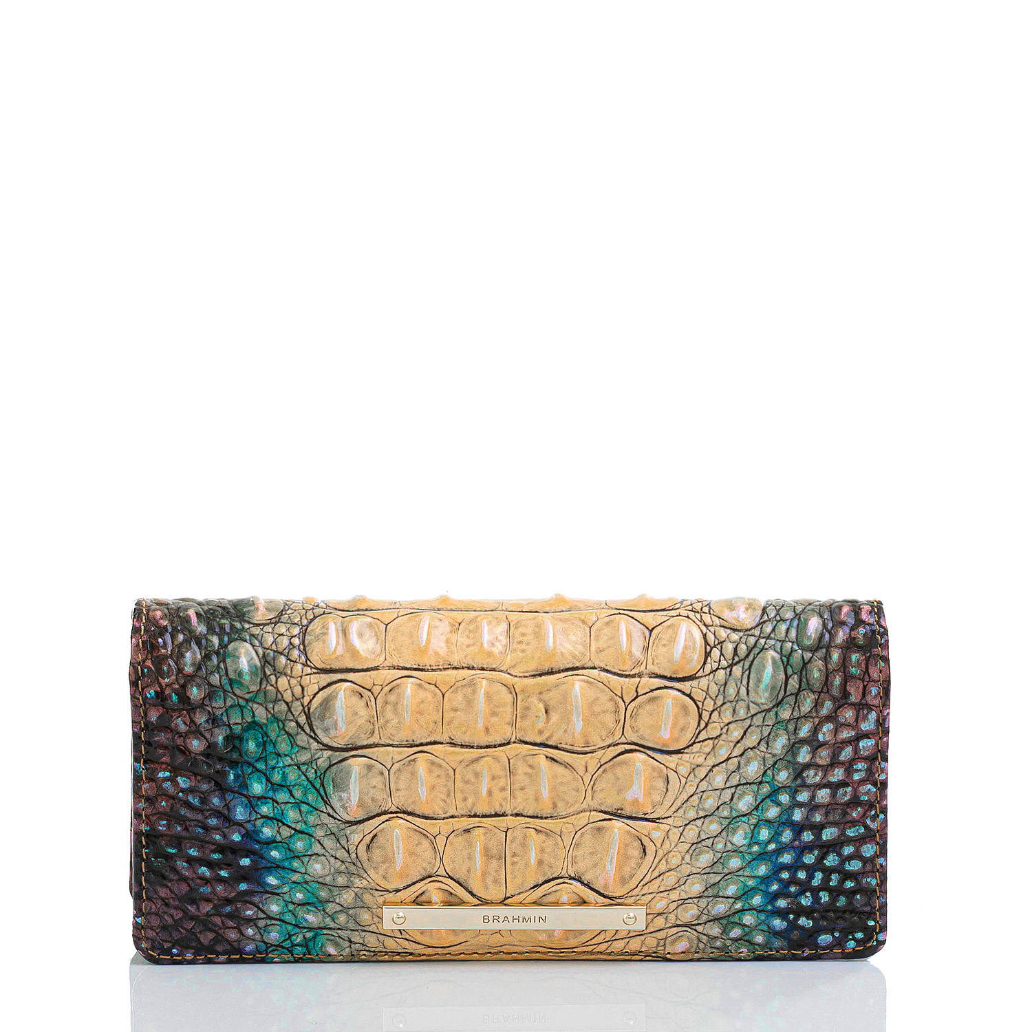 Ady Wallet Reptilian Ombre Melbourne Front