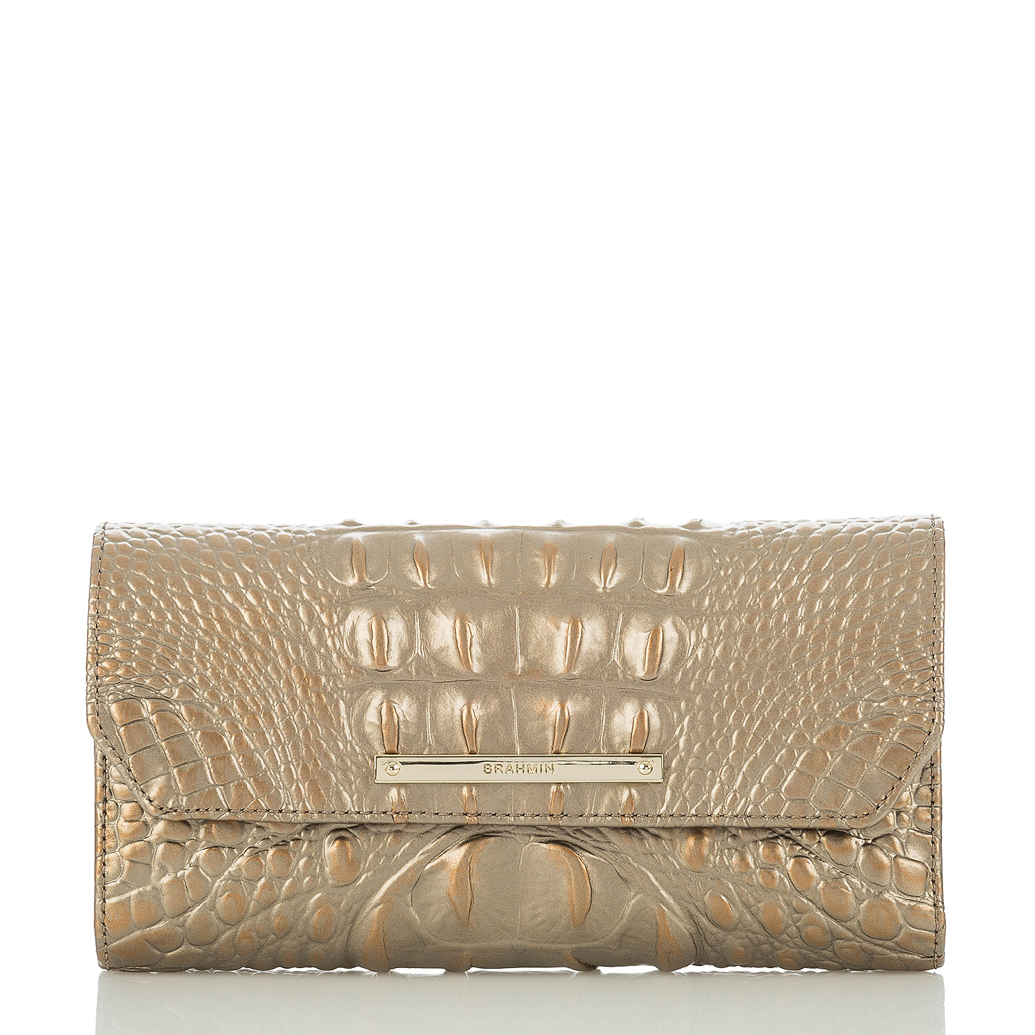 Soft Checkbook Wallet Rose Gold Melbourne
