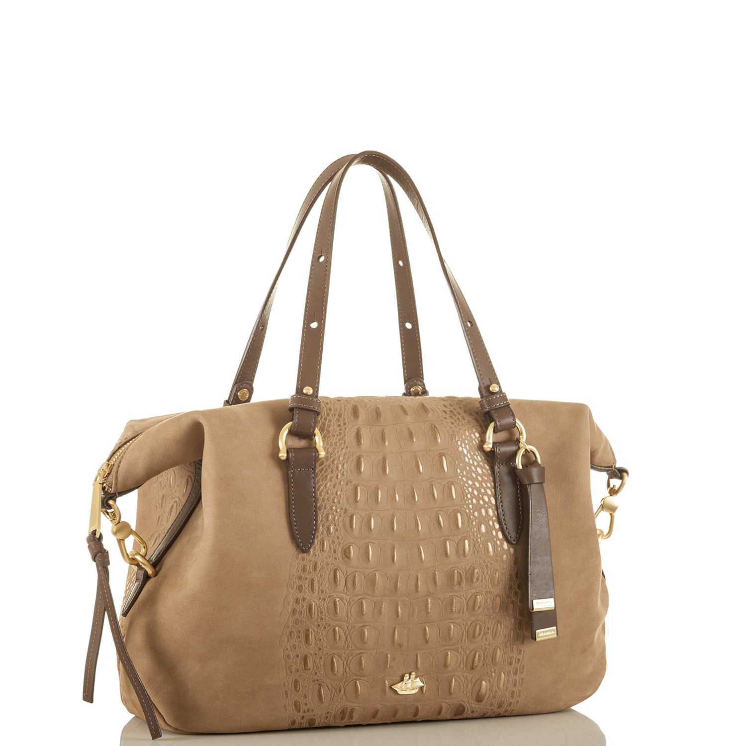 Delaney Satchel Gold Wilmington