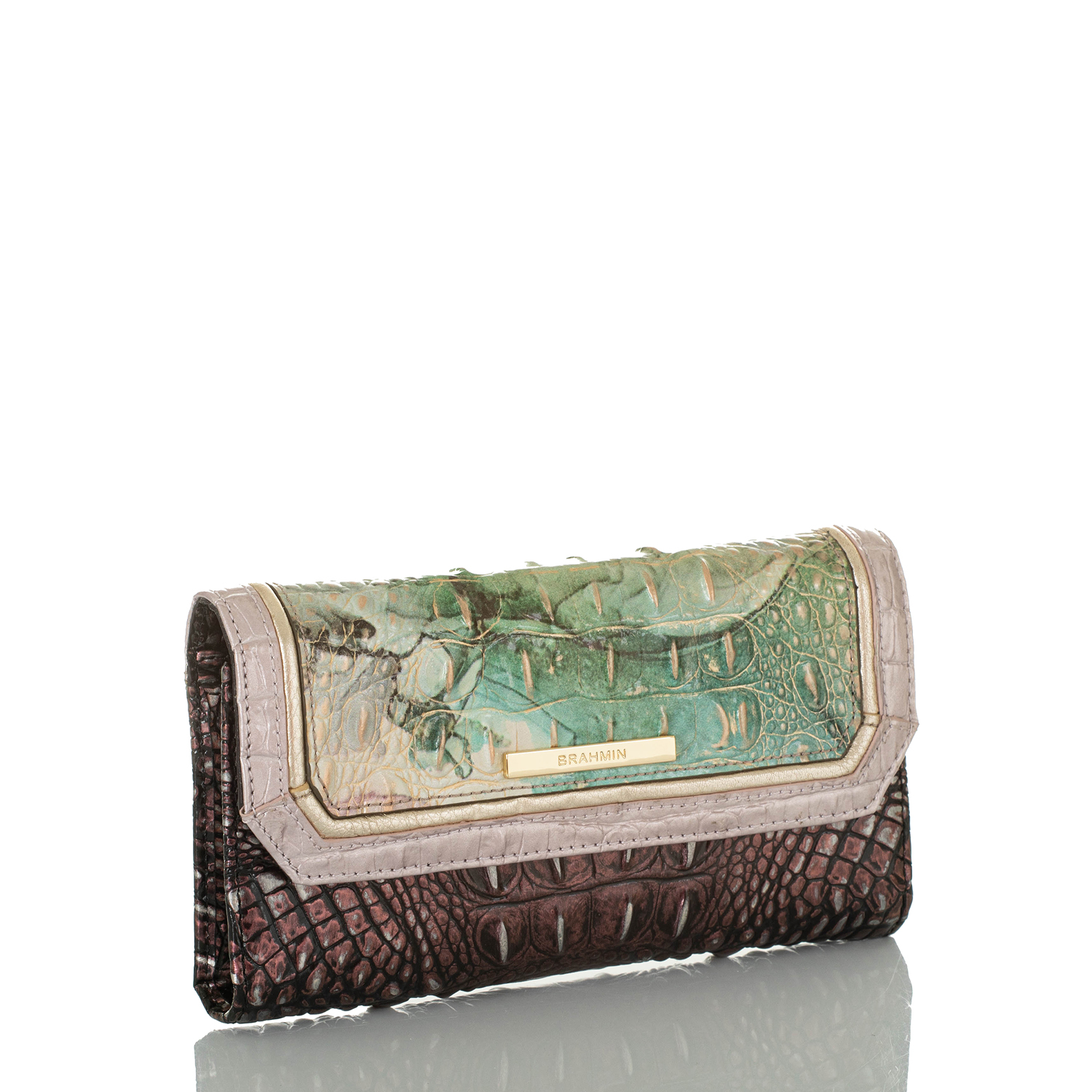 Soft Checkbook Wallet Nirvana Jasper