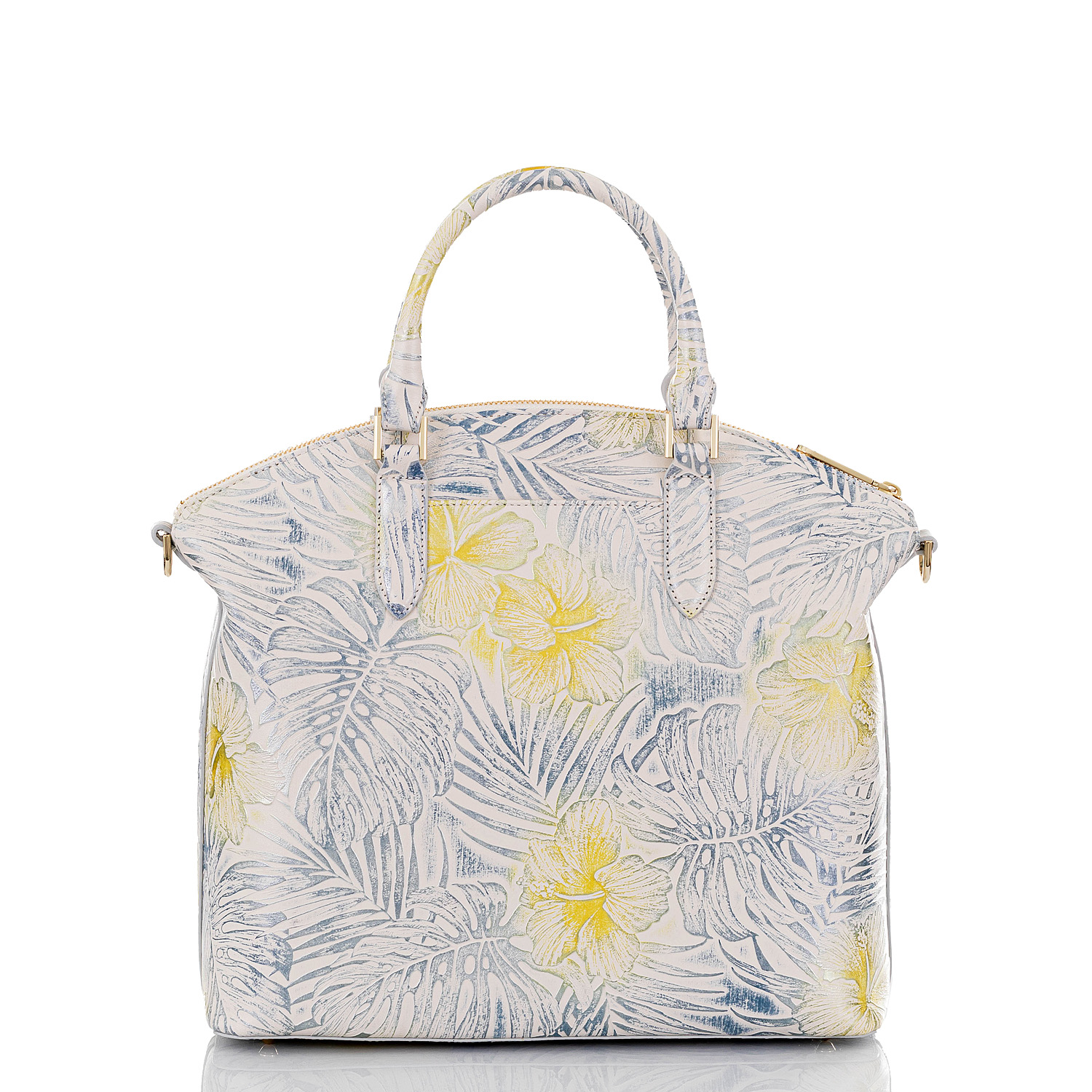 Large Duxbury Satchel Lemonade Nostalgia